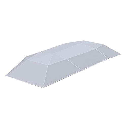 ZXLIFE@@ Automatische Auto Paraplu, Auto Tent Carport Draadloze Auto Luifel Zonnekap Tent met Afstandsbediening Eenvoudig schoon te maken 8s Installatie Duurzaam