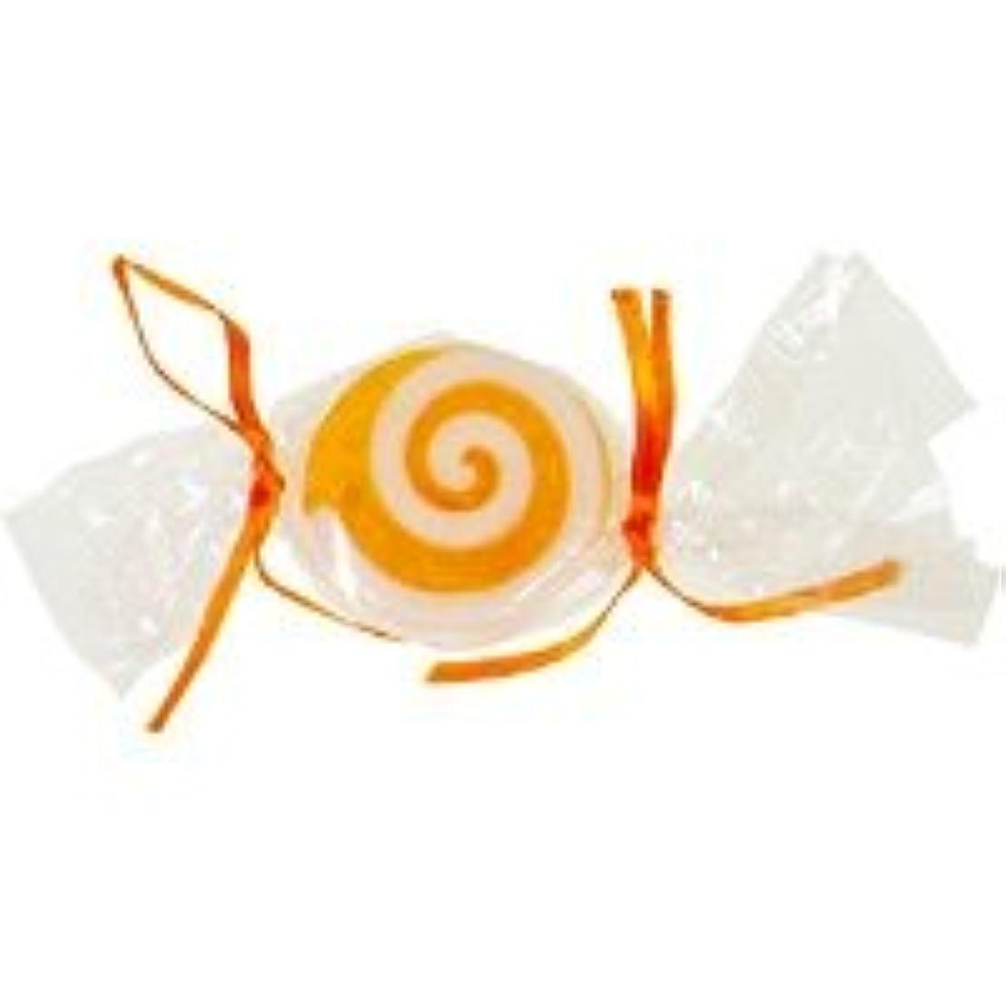 生き残り迷彩専門用語ベジタブルソープ キャンディ「オレンジ」20個セット オレンジの香り
