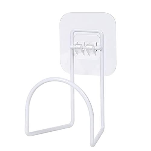Angoily Halter Wand Montiert Jacke Aufhänger Punch- Freies Sicherheit Helm Lagerung Rack Metall Ständer für Jacke Mäntel Hüte Weiß