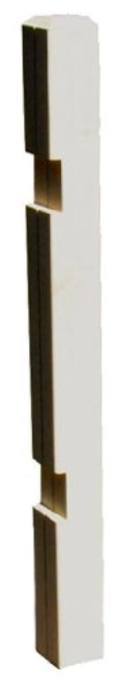 シャーク抑圧する集団的ボーダーフェンス用ポール (ロータイプ?ストレート連結) 1本 高さ95cm ウォッシュホワイト JSBP-950WH