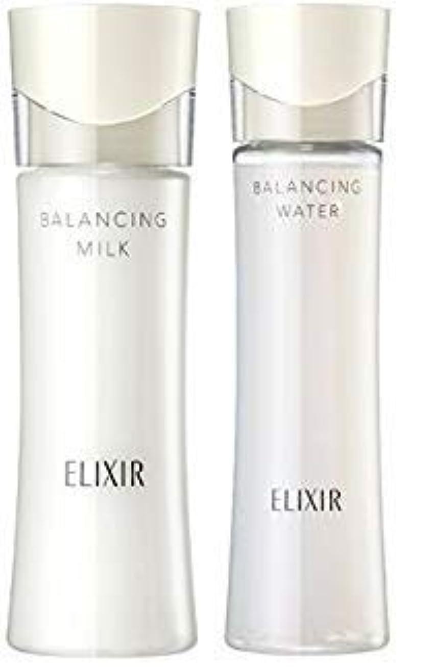 支援ピグマリオン証人エリクシール ルフレ バランシング ウォーター 化粧水1 168mL+ 乳液130mL (さらさらタイプ) セット