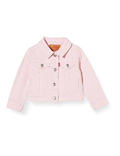 Levi's Kids Baby-Mädchen Lvg Trucker Jacket Jeansweste, Rose Shadow, 24M