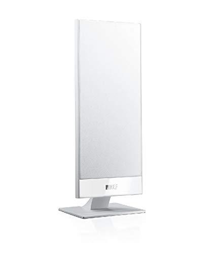 KEF T101 Lautsprecher Weiß Paar|Ultra Flach| 3,5cm tief|10-100W|HiFi|Heimkino|TV