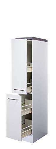 Flex Well Demi-Apotheker-Schrank 30 cm Weiß - Nawa