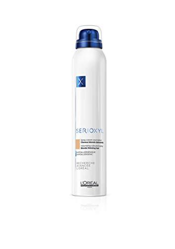L'Oréal Professionnel Paris Serioxyl Spray Blond, kräftigendes Farbspray für dünner werdendes Haar, für mehr Haarfülle, 200 ml
