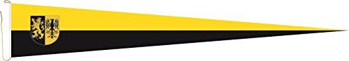 U24 Langwimpel Vogtland Fahne Flagge Wimpel 200 x 40 cm Premiumqualität