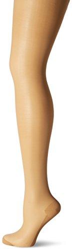KUNERT Damen Strumpfhose Cotton Sole 309800,Beige (Puder 3550), Gr. 40/42