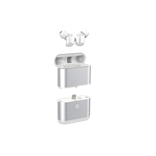 SMEJS Auriculares Bluetooth Auriculares con Control táctil de Carga inalámbrica Caso estéreo Impermeable Auriculares en la Oreja con el micrófono Incorporado Auricular de Nivel Superior Deep Bass for