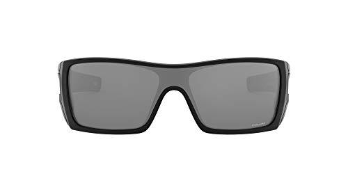Oakley Men's OO9101 Batwolf Shield Sunglasses, Black Ink/Prizm Black, 127 mm