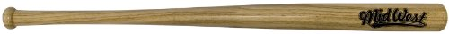 Midwest Kids Slugger Wood Bat - Brown, 28 inch