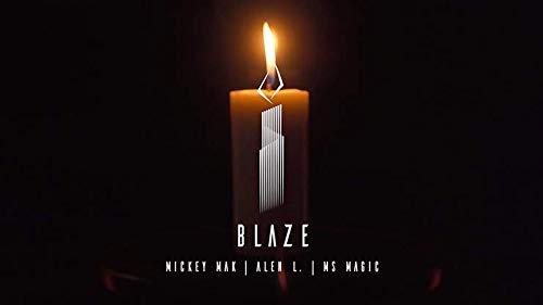 Blaze (The Auto Candle) by Mickey Mak, Alen L. & MS Magic - Trick , Truco de Magia
