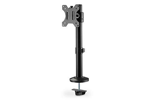 DIGITUS Monitor-Halterung - Tischklemme - 1 Monitor - Bis 32 Zoll - Bis 8 kg - VESA 75x75, 100x100 - Schwarz, DA-90397