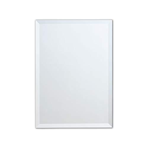 Better Bevel 30' x 40' Frameless Rectangle Mirror | 1' Beveled Edge | Copper-Free | Bathroom Wall Mirror