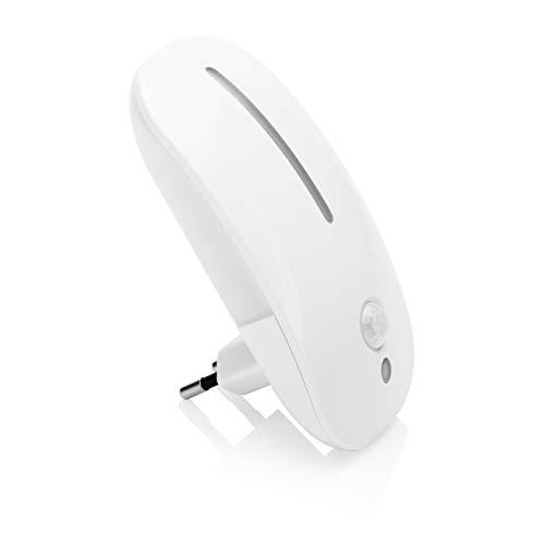 Smart Light 7000.059 Led-plug-in nachtlampje met bewegingsmelder, 1,8 W, 27 lm, warm wit