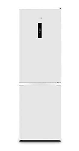 Gorenje N 619EAW4 Kühl-Gefrier-Kombination/ LED Display/ 186 cm/ 300 l/ NoFrostPLus/ Gemüsefach mit Feuchteregler/ FastFreeze/ weiß