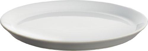 Alessi DC03/5 LG Tonale - Plato de postre (4 unidades), color gris claro