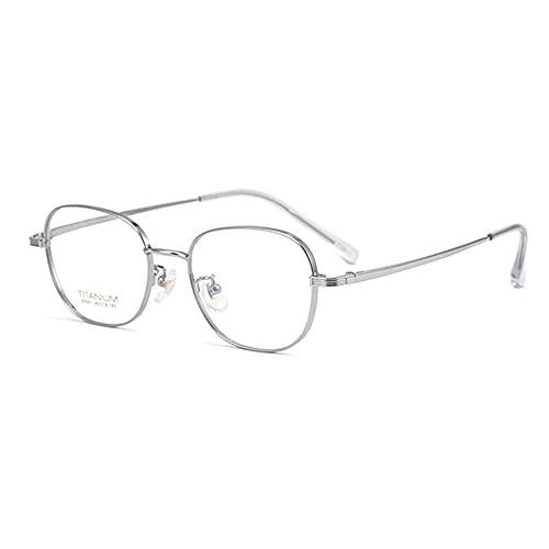 EYEphd Gafas de Lectura fotocromáticas para Exteriores con Zoom Inteligente, Lente de Resina HD de Enfoque múltiple Progresivo, Gafas de Sol con Montura de Titanio Puro/antirreflejo,01,+1.0