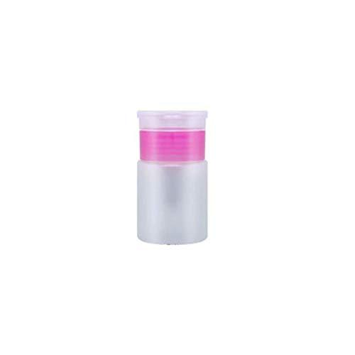Chakil Make-up Entferner Flasche, Reiseflasche Nagel Werkzeug Leere Flasche, Nagellack Wasserentferner flüssige Desinfektion Wasserpresse Flasche 60ml