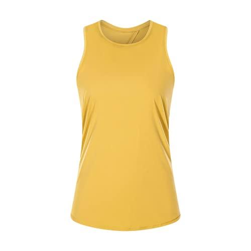 Top de yoga de la blusa de los deportes de la espalda de la belleza del bowknot de las mujeres del chaleco con cordones agradable a la piel desnudo