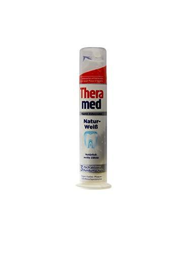 Theramed Natur-weiß Fluorid-Zahncreme Tägliche Zahnpasta 100ml toothpaste