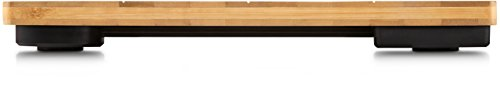 Soehnle Bamboo Bilancia Pesapersone Digitale, con Schermo Lettura LCD Extra-Grande, in bambù Naturale