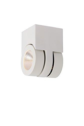 Preisvergleich Produktbild Lucide MITRAX - Deckenstrahler - LED Dim. - 2x5W 3000K - Weiß