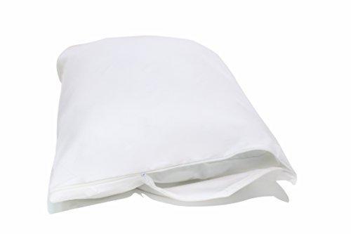 Allersoft Bettwanzen-, Staubmilben- und Allergiekontroll-Kissenschutzumhüllung aus 100 % Baumwolle, 40 x 60 cm