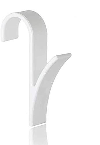SACALA 4 ganchos para toallero calentado, radiador tubular, soporte de baño
