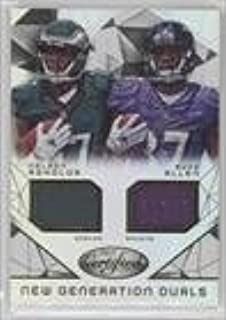 Buck Allen; Nelson Agholor #624/799 (Football Card) 2015 Panini Certified - New Generation Dual Jerseys #NG-USC