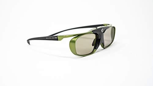 2x Hi-SHOCK Lime Heaven DLP Link 3D Brille für DLP Projektoren / Beamer   HD optimiert ideal für Acer, BenQ, Viewsonic, Optoma, LG   Modell: YDD4PG, 96-200Hz, 32g, USB wiederaufladbar