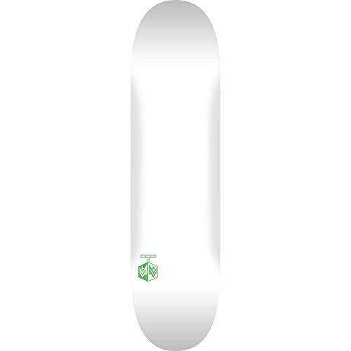 Mini Logo Planche de skateboard Cheveron Detonator Bouleau Blanc 21,6 cm