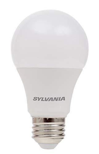 SYLVANIA, 60W Equivalent, LED Light Bulb, A19 Lamp, 2 Pack, Soft White, Energy Saving