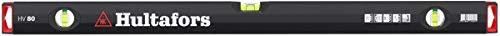 Hultafors Handwerker-Wasserwaage HV 80, 411201, Professionelle Wasserwaage mit Stoßdämpfenden Endkappen (80 cm)