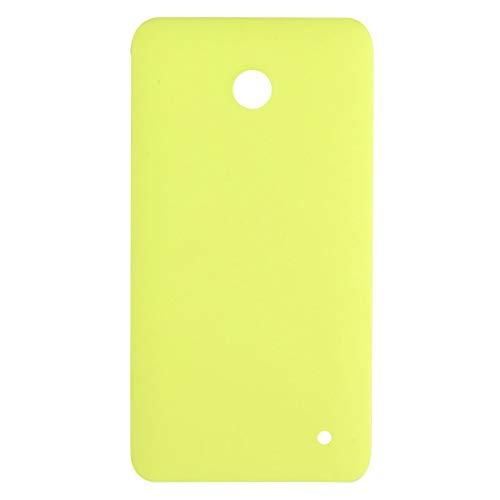 GANK GMO AYSMG Batteria Cover Posteriore for Nokia Lumia 630 (Nero) (Color : Yellow)
