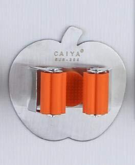 zhtao 304 Edelstahl Clip Mop Mop Rack Hakenfreien Selbstklebenden Perforierten Deck Besen Besenapfel Clip Mop Mop Rechenhaken Apple Upgrade/orange