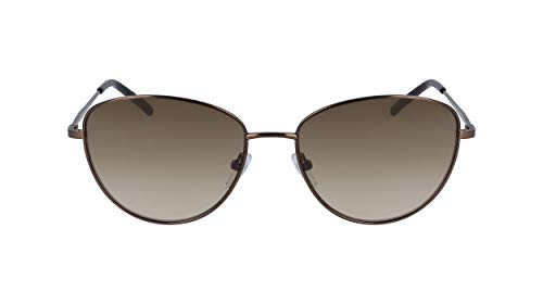 DKNY DK103S Gafas de sol, Brown, 56 MM, 16 MM, 135 MM para Mujer