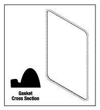Door Gasket - Alternative dealer Fits: Rectangular AMG012 x 36