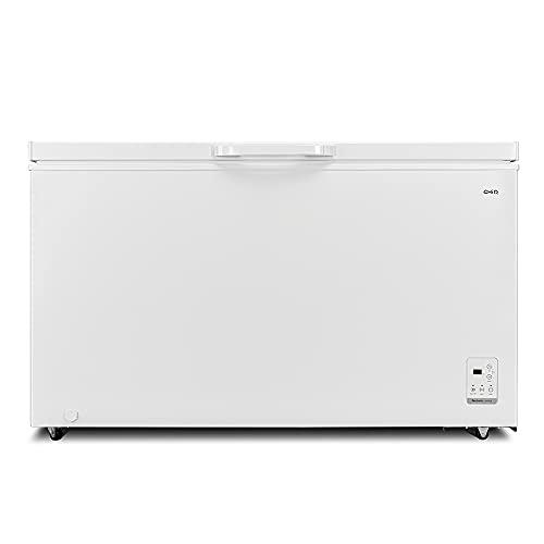 CHiQ Congelador FCF400D, 400 litros, color blanco, bajo consumo, 40 db, 12 años de garantía en el compresor