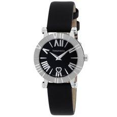 Tiffany Z1300.11.11A10A41A ティファニーAtlas レディース腕時計 ブラック×シルバー [並行輸入品]