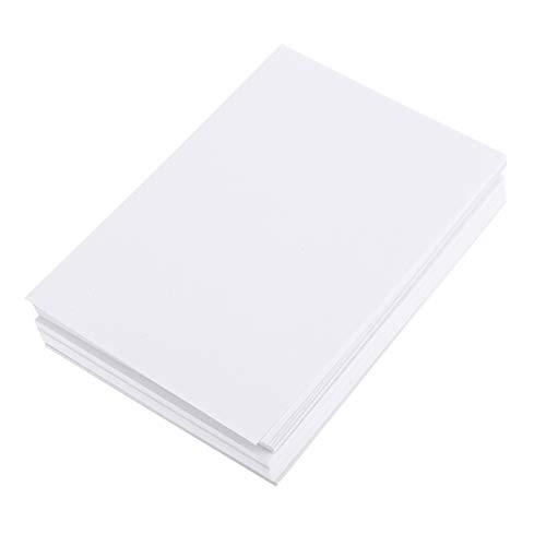 Exceart 100 Vel Wit Tekenpapier A4 Formaat Ambachten Papier Schildersezel Papier Plakboek Papier Voor Kinderen Kunst Verven Diy Plakboek Fotoalbum