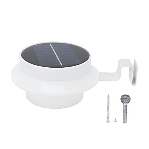 Eulbevoli Luces solares de la Cerca, Interruptor automático inalámbrico de la lámpara del LED para el Paisaje para el Patio