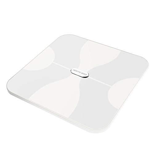Lichaam Dikke Schaal, 1byone Draadloze Schaal Digitaal Met Gehard Glas, Max. 180 kg/400 lb weegschaal, 10 gebruikers automatische herkenning, meet gewicht, lichaamsvet, water, spier