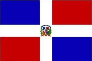 Dominikanische Republik Fahne Flagge Grösse 1,50x0,90m - FRIP –Versand®