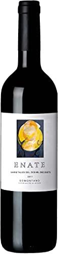ENATE Varietales Añada 2017 - Vino Tinto - D.O. Somontano - Botella de 75 cl - Elaborado con las Variedades Merlot, Syrah y Cabernet Sauvignon - Vino Tinto con Aromas Especiados y Balsámicos