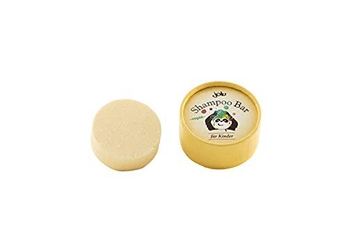 jolu Festes Shampoo Bio Kinder Haarseife für alle Haartypen   Baby Shampoo Bar Naturkosmetik Damen Männer   Seife für Haare   Plastikfreies Shampoo vegan ohne Tierversuche