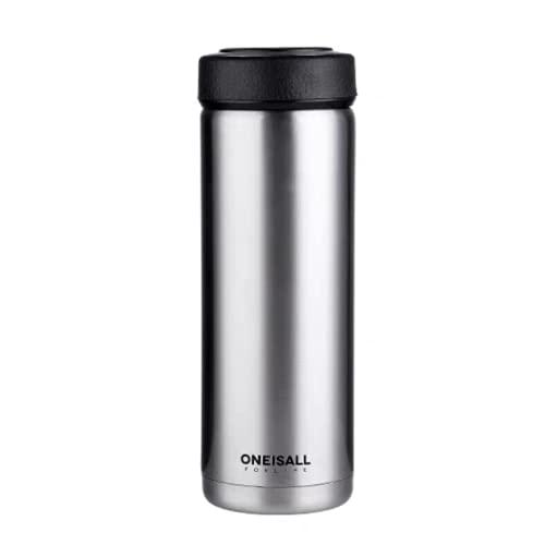 BB&YING Taza de café, taza de viaje al vacío, botella sin aire, taza a prueba de fugas, taza de acero inoxidable, taza reutilizable.