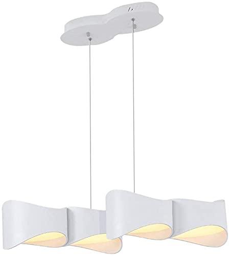 RR&LL Lámpara, araña moderna minimalista de estilo geométrico, araña de loft incrustada, restaurante, bar, cafetería, barra de araña