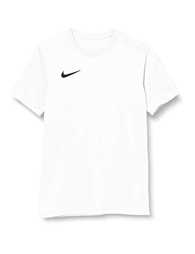 NIKE Y Nk Dry Park VII JSY SS Camiseta de Manga Corta, Unisex niños, White/Black, M