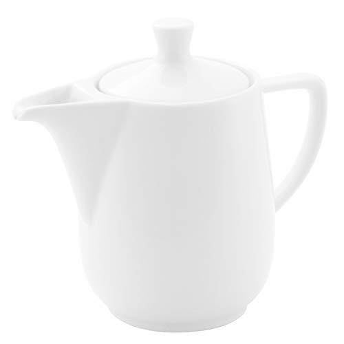 Friesland Kaffeekanne 0,35l weiß Porzellan