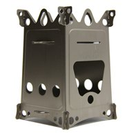 Emberlit Fireant,Titanium, Multi-fuel Backpacking Stove Great for...